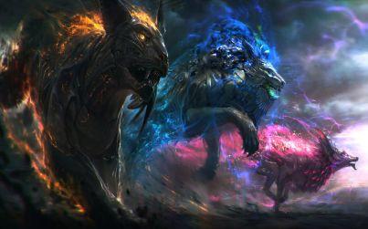 gods_of_sound_elemental_wolf_panther_big-lion